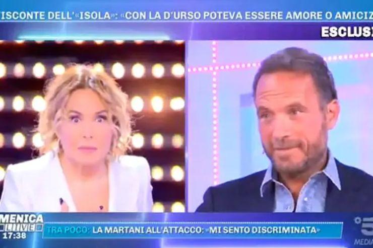 Domenica Live - Barbara D'Urso e Guglielmotti