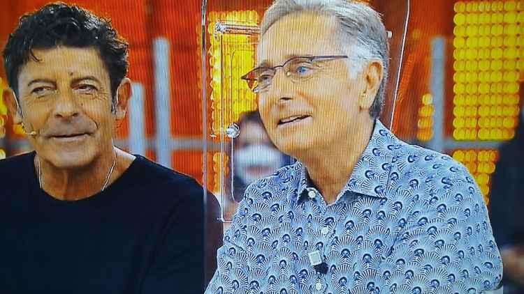 Paolo Bonolis e Luca Laurenti ad Avanti un Altro