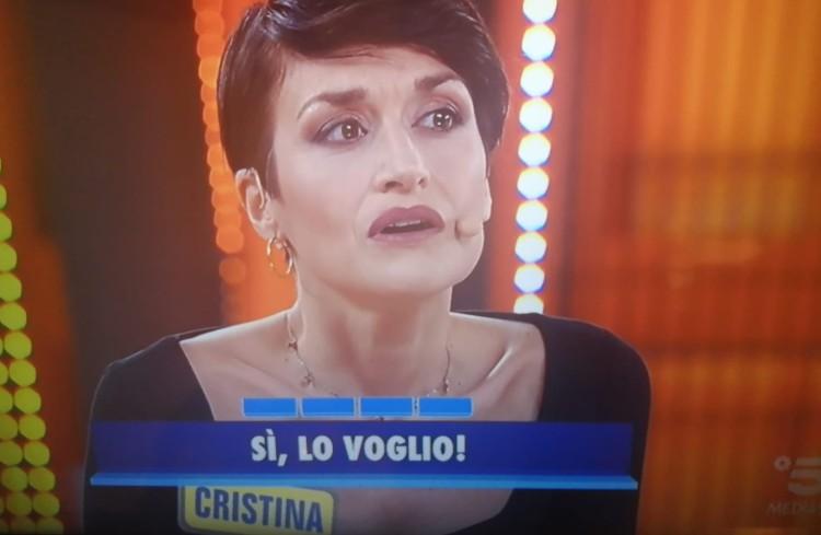 Cristina, concorrente a Avanti un Altro