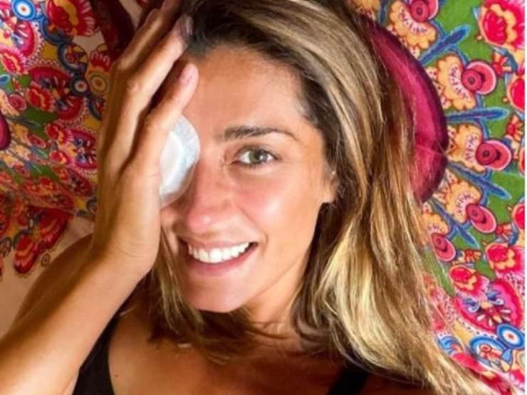 Elisa Isoardi, ritirata dall'Isola per un infortunio
