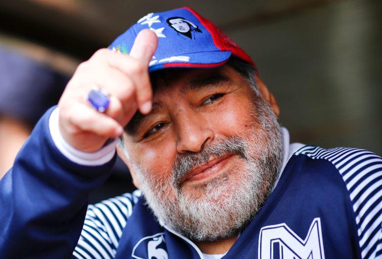 Diego Armando Maradona serie tv annuncio