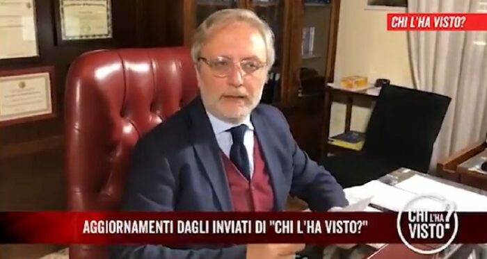 Giacomo Frazzitta a Chi l'ha visto