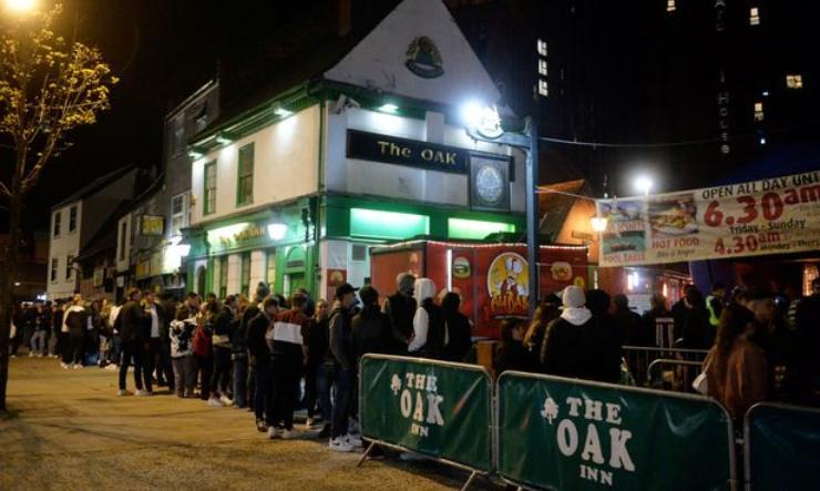 Il Pub The Oak Inn