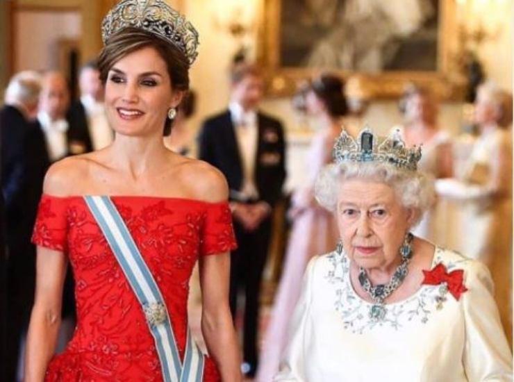 Elisabetta e Letizia di Spagna