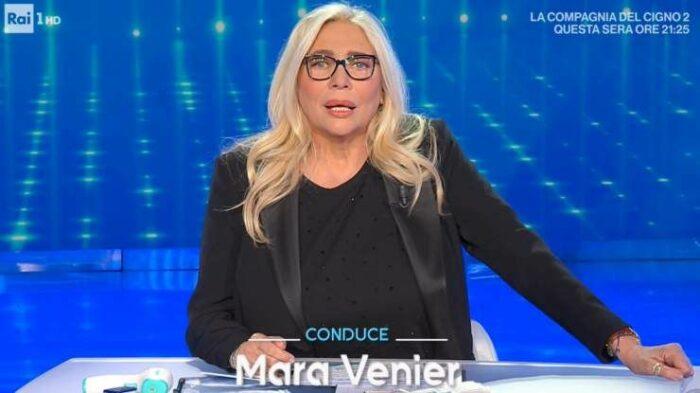 Mara Venier conduttrice