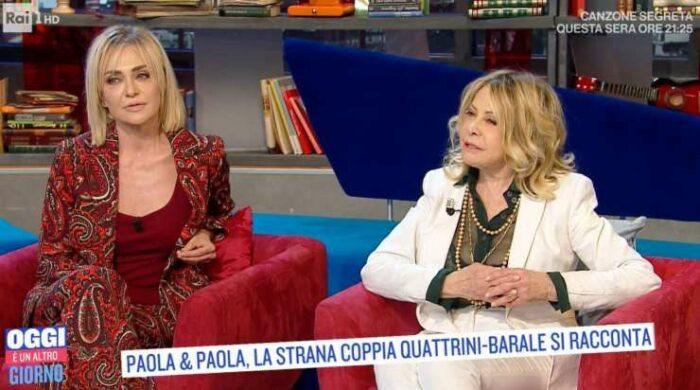 Paola Barale e Paola Quattrini