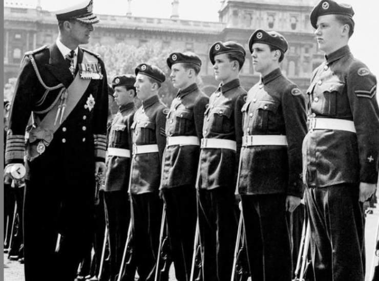 Principe Filippo patrono dell'associazione militare per 63 anni