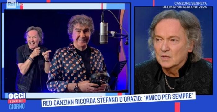 Red Canzian intervista
