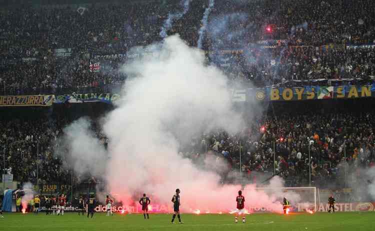 San Siro durante Milan-Inter