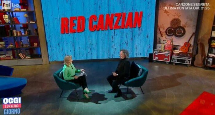 Serena Bortone e Red Canzian