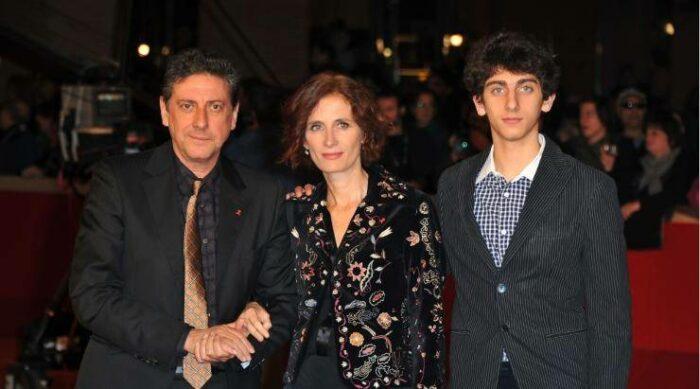 Sergio Castellitto Margaret Mazzantini e Pietro Castellitto