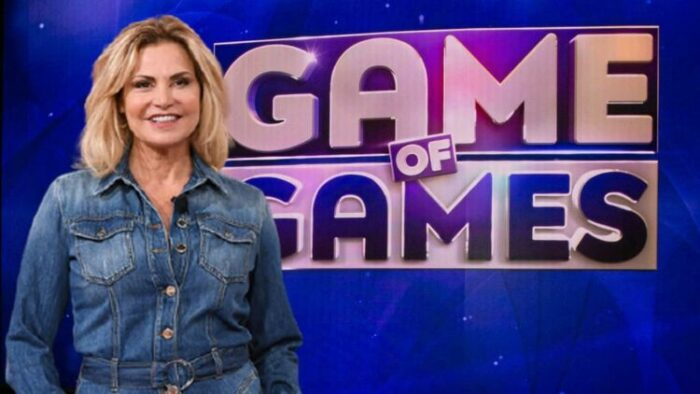 Simona Ventura Game of Games Inizio