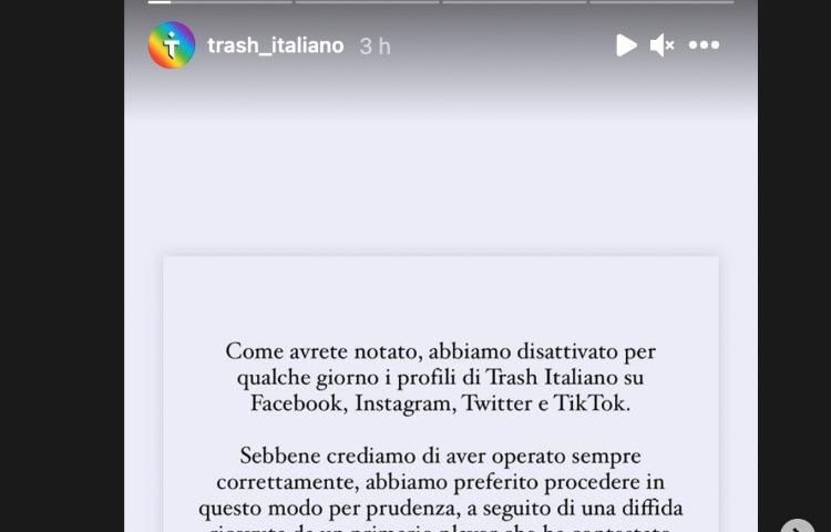 Storia Trash Italiano