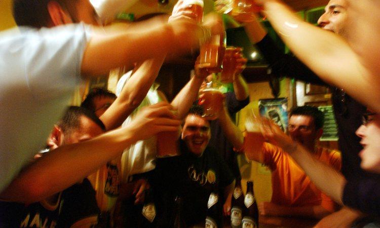 Un brindisi di festeggiamento