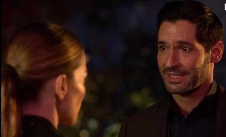 Lucifer e Chloe scena nuovo trailer