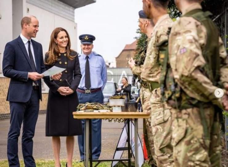 I Duchi in visita alla Royal Air Force