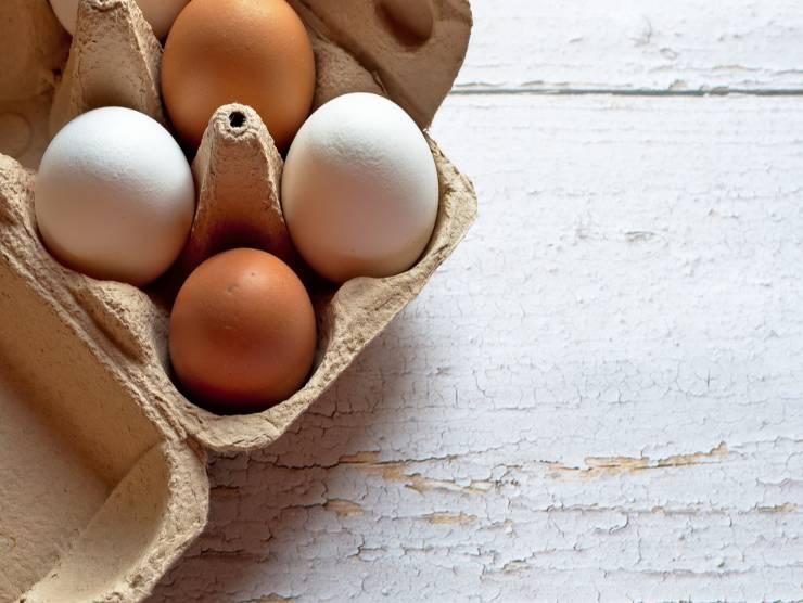 confezione uova fresche