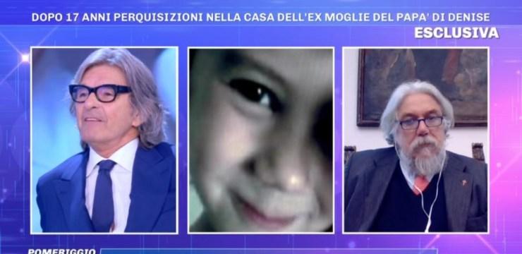 Roberto Alessi e Alessandro Meluzzi a Pomeriggio 5