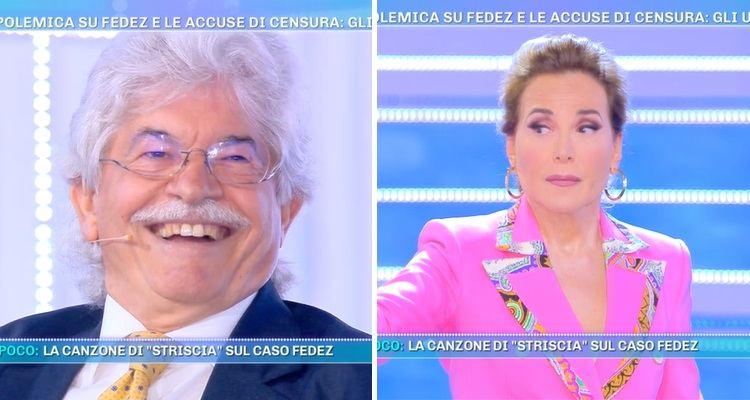 Antonio Razzi e Barbara d'Urso a Domenica Live