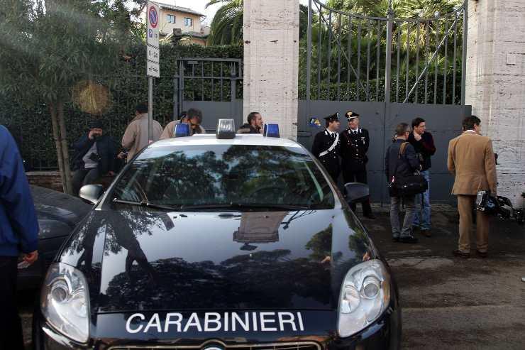 Caso Cucchi - gazzella dei carabinieri