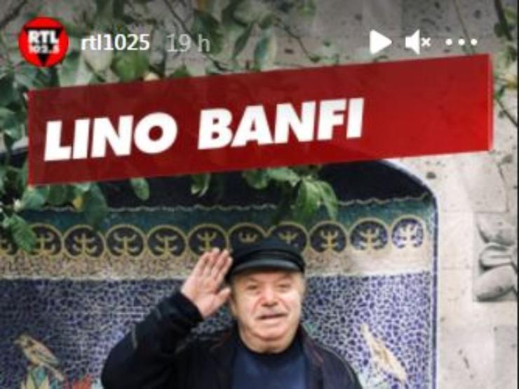 Banfi a RTL 102.5