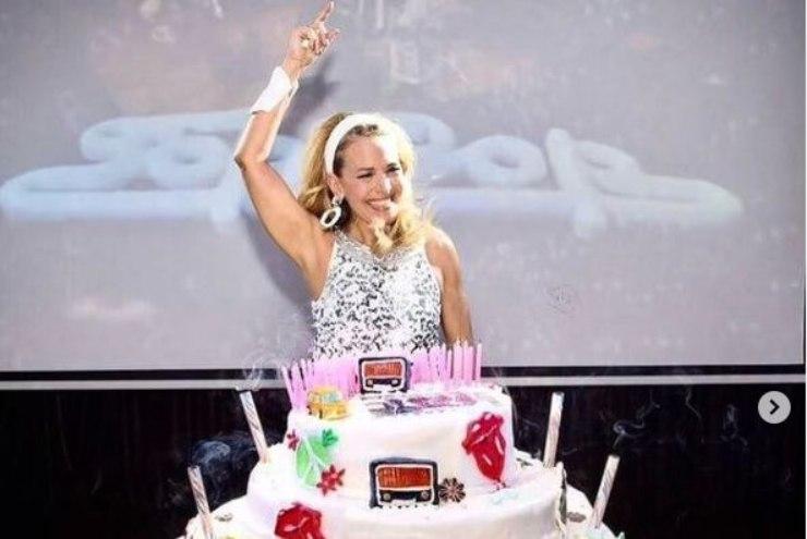 Barbara D'Urso festeggia il compleanno