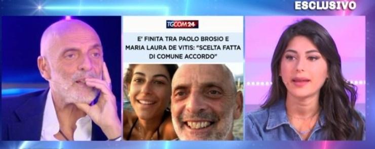 Paolo e Maria Laura a Domenica Live
