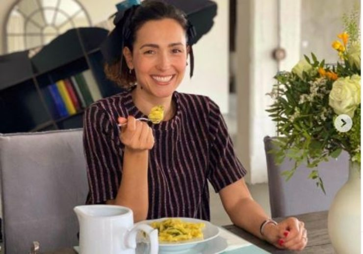 Caterina ed il suo pranzo leggero