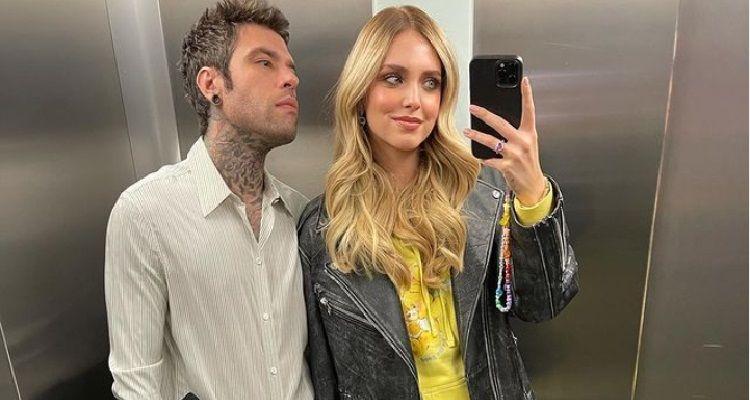 Chiara Ferragni e Fedez selfie