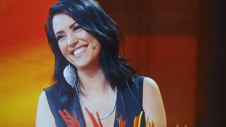 Claudia Ruggeri sorride a Avanti un Altro