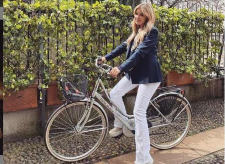Costanza in bici