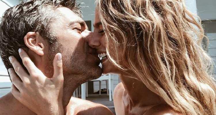 Cristina Marino e Luca Argentero bacio