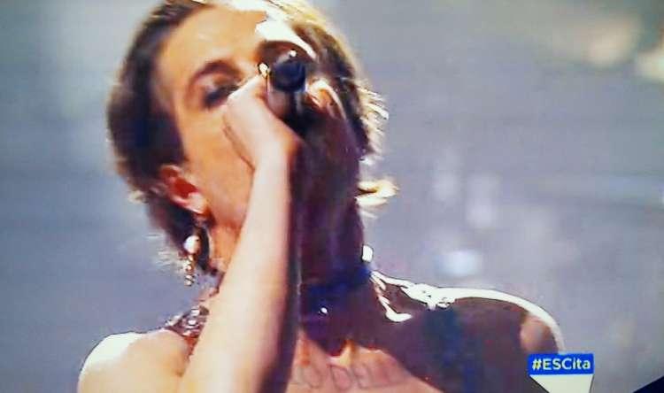 Damiano David canta all'Eurovision