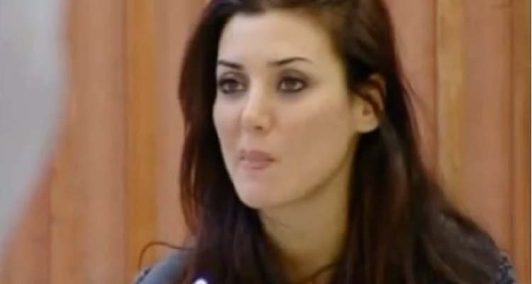 Daniela Martani al Gf 9