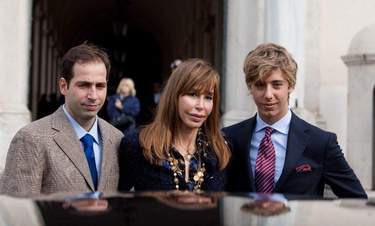 Daniela Zuccoli con i suoi figli, nati dal suo amore con Mike Bongiorno