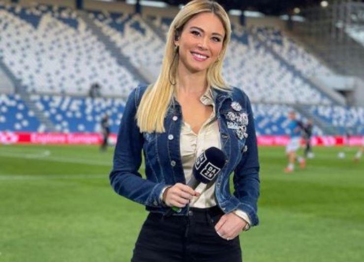 Diletta giornalista sportiva