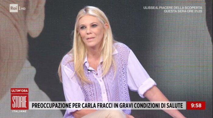 Eleonora Daniele in diretta
