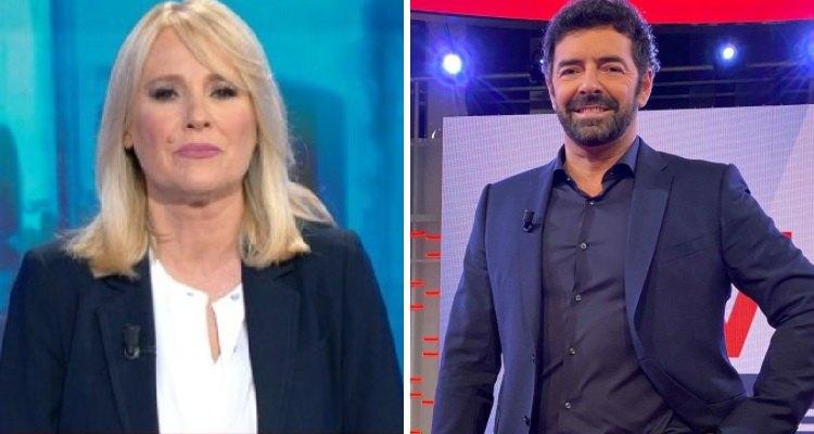 Federica Sciarelli e Alberto Matano