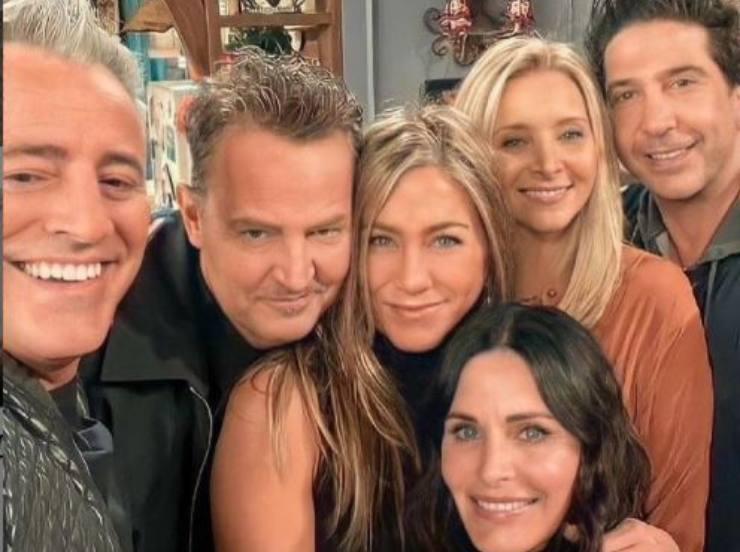 Foto originale della Friends Reunion