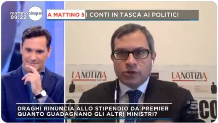 Francesco Vecchi Mattino 5