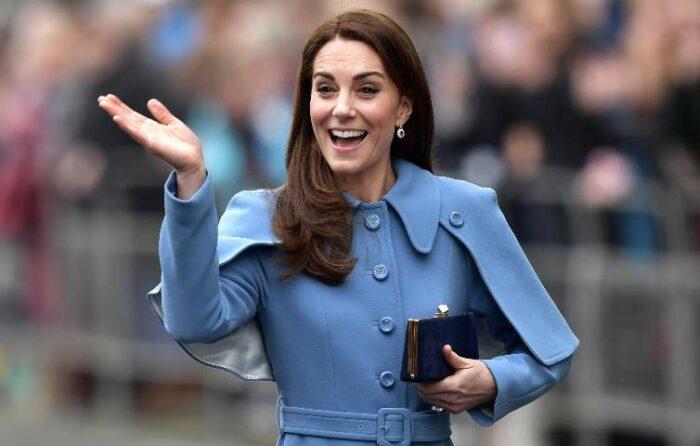 Kate Middleton sorridente