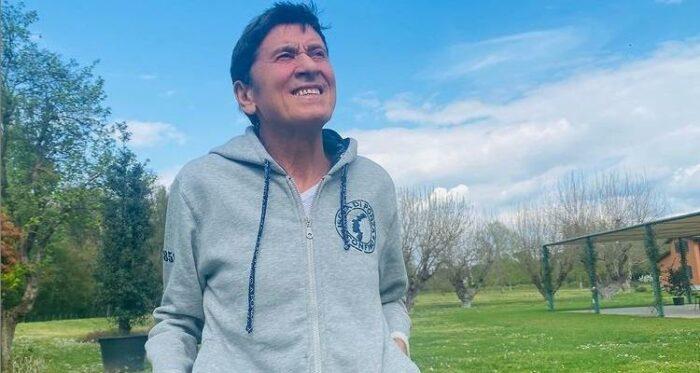 Gianni Morandi annuncio