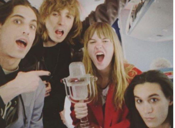 Il gruppo vince l'Eurovision