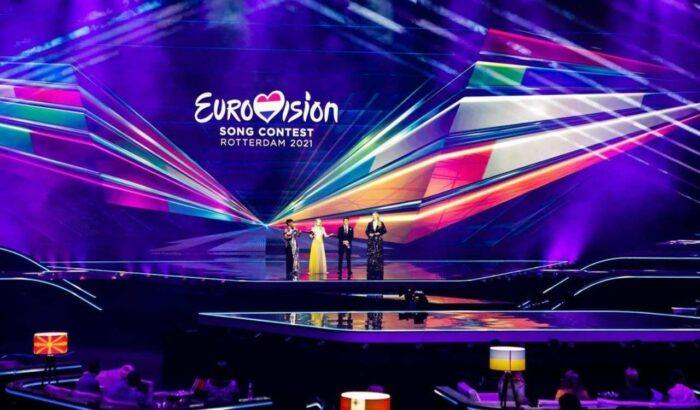 Il palco dell'Eurovision
