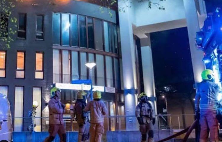 Incendio Hotel Elisa D'Ospina