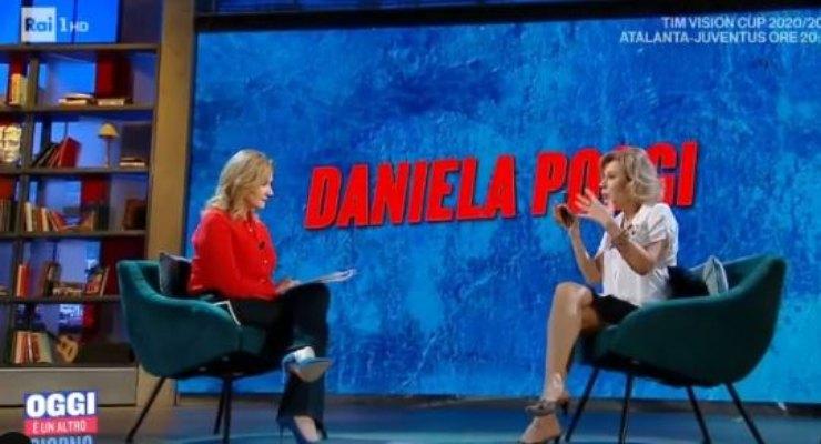 Serena Bortone intervista l'attrice in studio