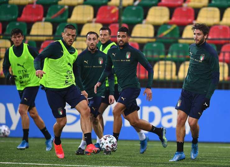 Italia allenamento