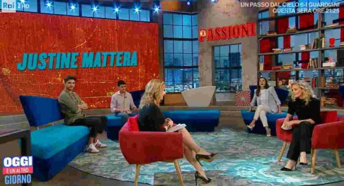 Intervista Justine Mattera
