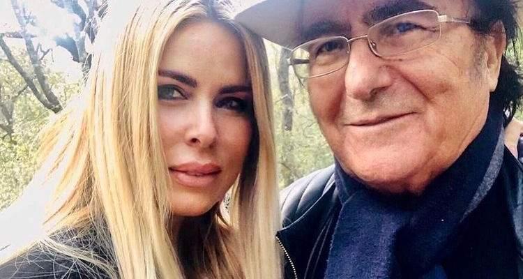 Loredana Lecciso e Albano Carrisi selfie