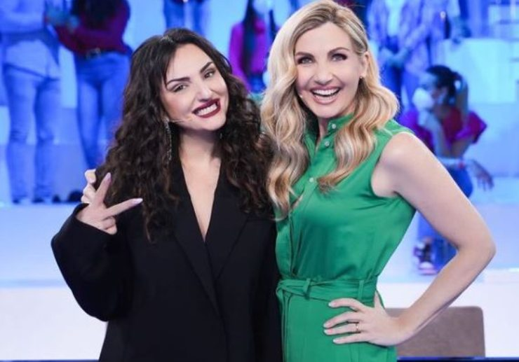 Lorella e Arisa, coach del talent